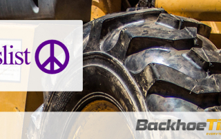 Buying Backhoe Tires Craigslist