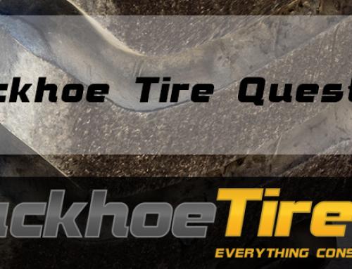 Backhoe Tire Questions