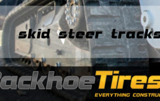 Skid Steer Tires and Tracks