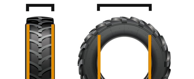 Backhoe Tire Size Guide