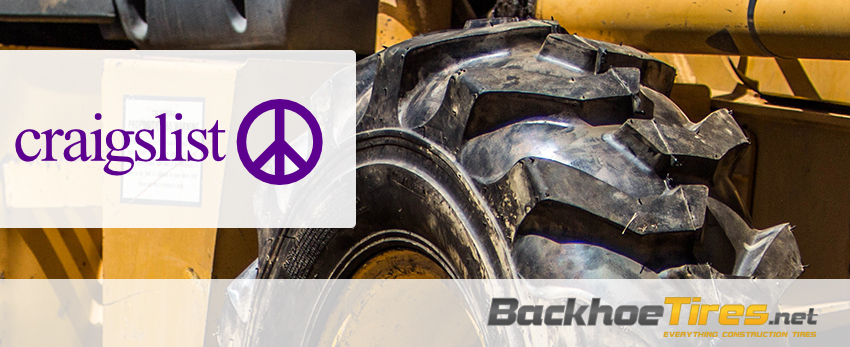 Backhoe Tires for Sale Craigslist, What to Look for