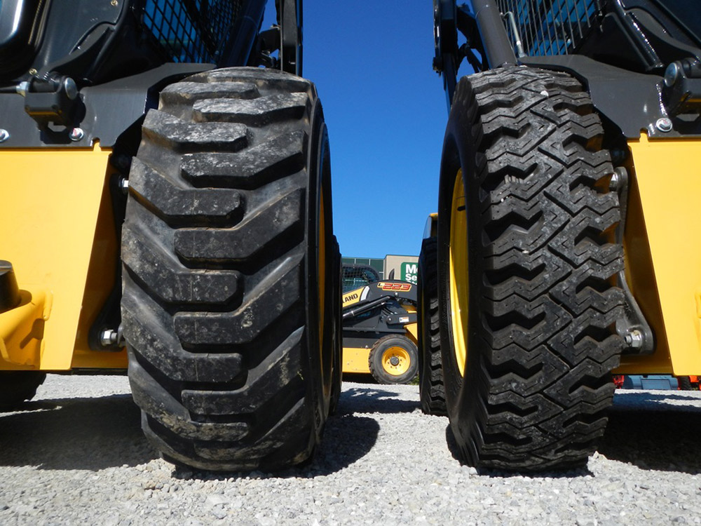 WolfPaws Skid Steer Snow Tires